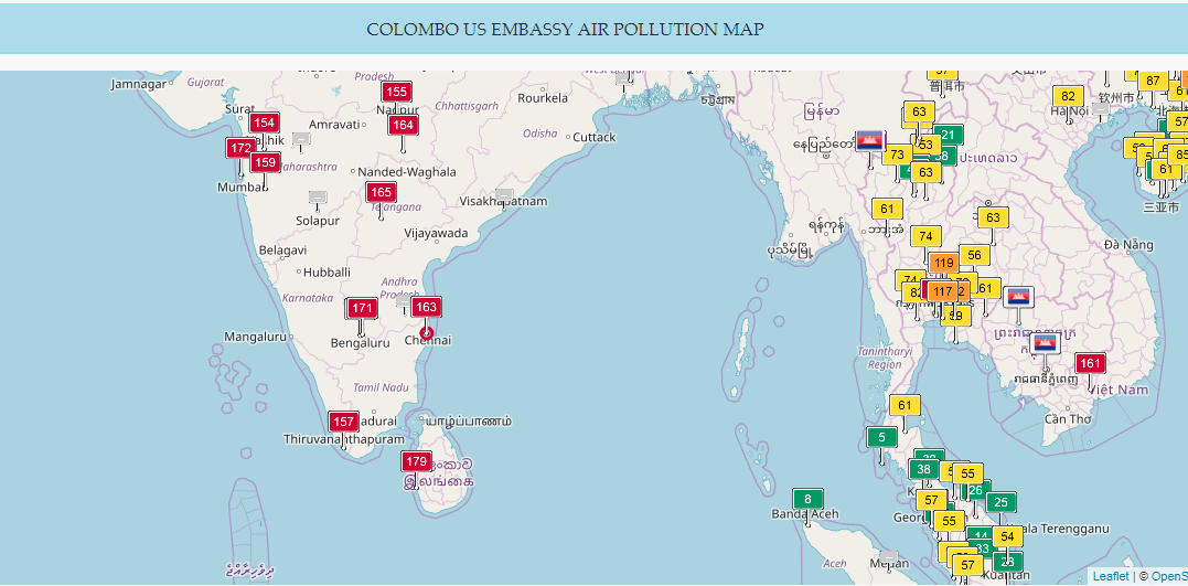 Colombo Air Pollution